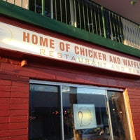 Photo taken at Home of Chicken and Waffles by Ryan F. on 7/22/2013