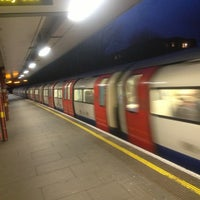 Photo taken at Kilburn London Underground Station by Lucky T. on 3/10/2013