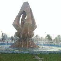 Photo taken at Prince Bin Jalawy Park by Moly E. on 10/26/2012