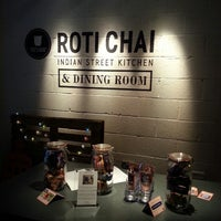 Photo taken at Roti Chai by Angela S. on 6/14/2013