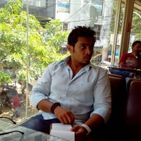 Photo taken at Coffee Cube by Karthik R. on 3/27/2013