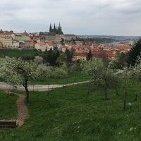 Photo taken at Velká strahovská zahrada by Jan M. on 4/23/2016