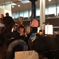 Photo taken at SWISS Business Lounge A by Andreas K. on 3/10/2013