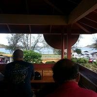 Photo taken at Kalapaki Beach Hut Burgers by Jason C. on 7/19/2013