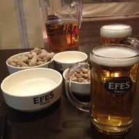 Photo taken at Efes Garden Pub by Ali A. on 3/16/2013