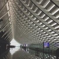 Photo taken at Taiwan Taoyuan International Airport (TPE) by Ping E. on 7/7/2013