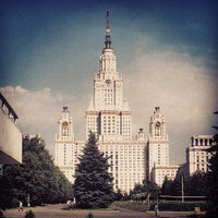 Photo taken at Юридический факультет МГУ by intmainvoid on 6/15/2013