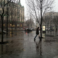 Photo taken at Terazije by Alex B. on 2/21/2013