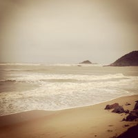 Photo taken at Praia do Sonho by Eduardo M. on 10/12/2012