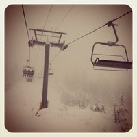 Photo taken at Cypress Mountain Ski Area by Jerkwithacamera on 12/16/2012
