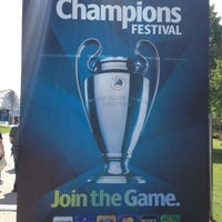 Photo taken at UEFA Champions Festival 2012 by Hubert F. on 5/18/2012