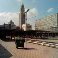 Photo taken at SuperVia - Central do Brasil Train Station by Marco Antonio Alves A. on 7/8/2013