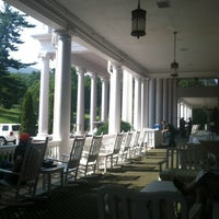 Photo taken at The Front Porch at The Homestead by Josh B. on 7/19/2013