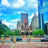 Photo taken at Copley Square by Mitsuko I. on 7/7/2013