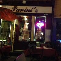 Photo taken at Panini's Trattoria, Italian Grill by Kauã S. on 4/17/2013