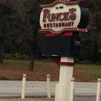 Photo taken at Funck's Restaurant by Erika H. on 11/5/2012