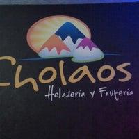 Photo taken at Cholaos by Javier G. on 1/10/2014