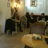 Photo taken at Caffè Dezzutto by Jean P. on 2/20/2013