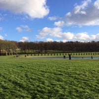 Photo taken at Domaine national de Marly-le-Roi by Nicolas P. on 2/2/2014