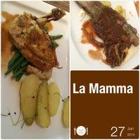 Photo taken at La Mamma by Marie J. on 6/27/2014