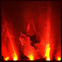Photo taken at Daryl Roth Theatre (Fuerza Bruta Wayra) by Kate on 1/21/2013