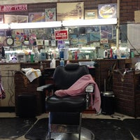Photo taken at Shields & West Barber Shop by Sy O. on 10/17/2012