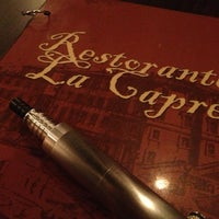 Photo taken at Restorante La Capre by Shogun on 7/31/2013