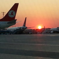 Photo taken at Istanbul Atatürk Airport (IST) by Murat K. on 7/24/2013