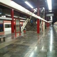 Photo taken at Tren Suburbano Tlalnepantla by Marybel M. on 3/9/2013