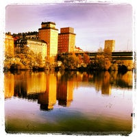 Photo taken at Sankt Eriksbron by Dick I. on 10/27/2013
