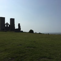 Photo taken at Reculver Towers and Roman Fort by Grant B. on 6/5/2016