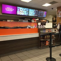 Photo taken at Dunkin' Donuts by Nate F. on 1/13/2016