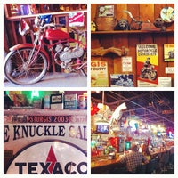 Photo taken at Knuckle Saloon by Justin F. on 9/25/2012