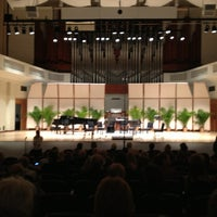 Photo taken at Wertheim Performing Arts Center by Jerry L. on 4/7/2013