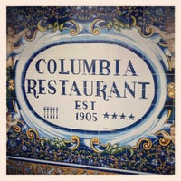 Photo taken at The Columbia Restaurant by Peter M. on 3/7/2013