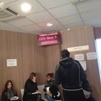 Photo taken at Oficina de empleo de la comunidad de Madrid by Eduardo P. on 11/12/2012