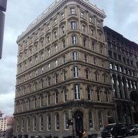 Photo taken at Le Place d'Armes Hôtel & Suites by Andrea L. on 4/10/2013