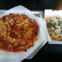 Photo taken at Yellow Cab Pizza Co. by Eia S. on 2/9/2013