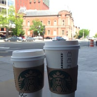 Photo taken at Starbucks by Misty B. on 4/27/2013
