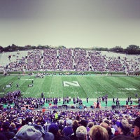 Photo taken at Ryan Field by Nick R. on 9/21/2013
