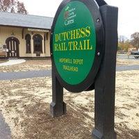 Photo taken at Dutchess Rail Trail by Matt S. on 11/9/2013