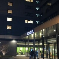 Photo taken at Novotel Amsterdam City by Bryan V. on 2/4/2013