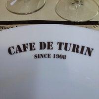 Photo taken at Café de Turin by Jiao J. on 8/22/2013