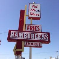 Photo taken at Fat Elvis Diner by Aaron J. on 3/4/2013