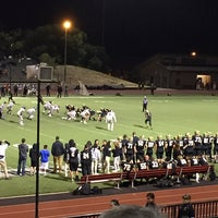 Photo taken at Foothill College Football Field by Mark C. on 9/27/2014