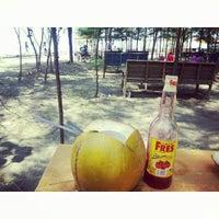 Photo taken at Pantai Alam Indah (PAI) Tegal by Tirza V. on 10/25/2014