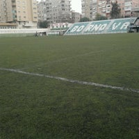 Photo taken at Bornova Stadı by Harun K. on 3/3/2013