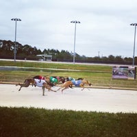 Photo taken at Daytona Beach Kennel Club and Poker Room by Amy T. on 2/25/2015