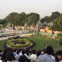 Photo taken at Wagah Border - India Pakistan Border by Saqib J. on 10/18/2015