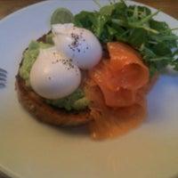 Photo taken at Lantana Cafe by Steve C. on 12/22/2012